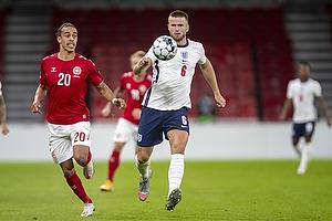 Eric Dier  (England), Yussuf Poulsen  (Danmark)