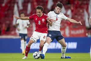 Thomas Delaney  (Danmark), Declan Rice  (England)