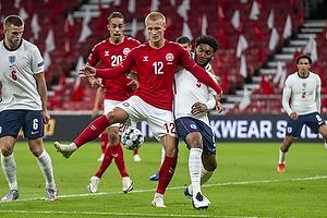 Kasper Dolberg  (Danmark), Joe Gomez  (England)