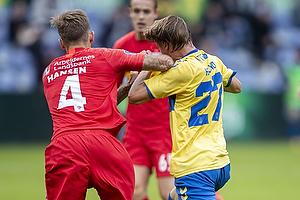 Simon Hedlund (Br�ndby IF), Kian Hansen  (FC Nordsj�lland)