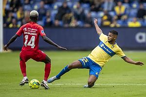 Anis Slimane (Br�ndby IF), Mohammed Diomande  (FC Nordsj�lland)