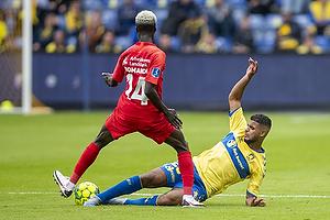 Mohammed Diomande  (FC Nordsj�lland), Anis Slimane (Br�ndby IF)