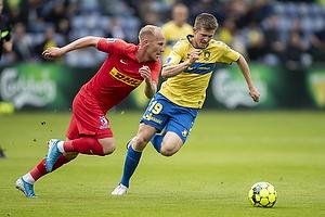 Morten Frendrup (Br�ndby IF), Mikkel Rygaard  (FC Nordsj�lland)