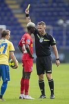 Jens Maae, dommer, Mohammed Diomande  (FC Nordsj�lland)