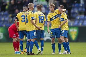 Sigurd Rosted (Br�ndby IF), Morten Frendrup (Br�ndby IF), Hj�rtur Hermannsson (Br�ndby IF)