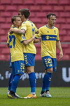 Simon Hedlund (Br�ndby IF), Mikael Uhre (Br�ndby IF), Lasse Vigen Christensen (Br�ndby IF)