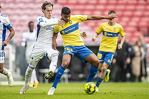 Anis Slimane (Br�ndby IF), Robert Mudrazija (FC K�benhavn)