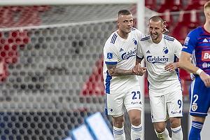Kamil Wilczek, m�lscorer  (FC K�benhavn), Ragnar Sigurdsson  (FC K�benhavn)