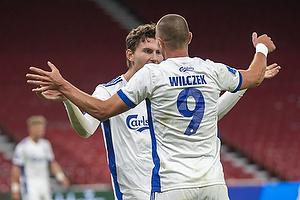 Kamil Wilczek  (FC K�benhavn), Jonas Wind  (FC K�benhavn)