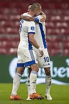 Kamil Wilczek  (FC K�benhavn), Carlos Zeca  (FC K�benhavn)