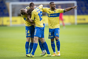 Jesper Lindstr�m, m�lscorer (Br�ndby IF), Sigurd Rosted (Br�ndby IF), Morten Frendrup (Br�ndby IF), Kevin Mensah (Br�ndby IF)