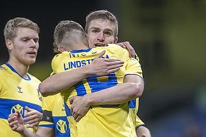 Jesper Lindstr�m, m�lscorer (Br�ndby IF), Mikael Uhre (Br�ndby IF)