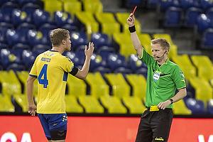 Sigurd Rosted (Br�ndby IF), J�rgen Daugbjerg Burchardt, dommer