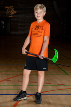 Portr�t: U-11 - Rungsted-H�rsholm Floorball Klub