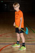 Portr�t: U-9 - Rungsted-H�rsholm Floorball Klub