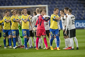 Andreas Maxs� (Br�ndby IF), Mads Hermansen (Br�ndby IF)