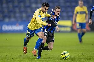 Rezan Corlu (Br�ndby IF), Jens Jakob Thomasen (Ob)