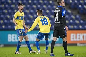 Morten Frendrup (Br�ndby IF), Jesper Lindstr�m (Br�ndby IF)