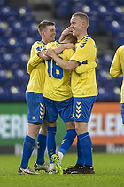 Jesper Lindstr�m (Br�ndby IF), Morten Frendrup (Br�ndby IF), Hj�rtur Hermannsson (Br�ndby IF)