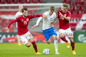 Blas Riveros (Br�ndby IF), Arnor Sigurdsson  (Island), Daniel Wass  (Danmark)