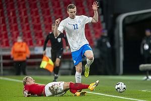 Daniel Wass  (Danmark), Jon Dadi B�dvarsson  (Island)