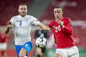 Yussuf Poulsen  (Danmark), Sverrir Ingason  (Island)
