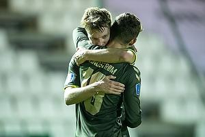 Jesper Lindstr�m, m�lscorer (Br�ndby IF), Sigurd Rosted (Br�ndby IF)