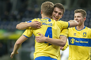 Sigurd Rosted (Br�ndby IF), Mikael Uhre (Br�ndby IF)