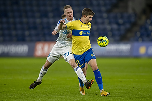 Mikael Uhre (Br�ndby IF), Marcel R�mer (Lyngby BK)