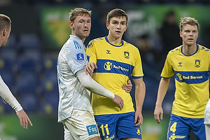 Mikael Uhre (Br�ndby IF), Christian Jakobsen (Lyngby BK)