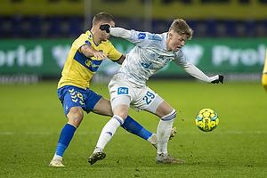 Josip Radosevic (Br�ndby IF), Victor Torp (Lyngby BK)
