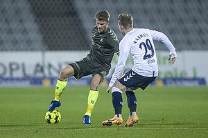 Sigurd Rosted (Br�ndby IF), Bror Blume  (Agf)