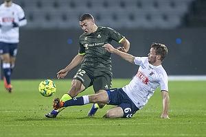 Josip Radosevic (Br�ndby IF), Casper H�jer Nielsen  (Agf)