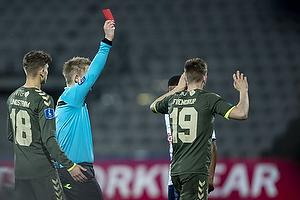 J�rgen Daugbjerg Burchardt, dommer, Morten Frendrup (Br�ndby IF)
