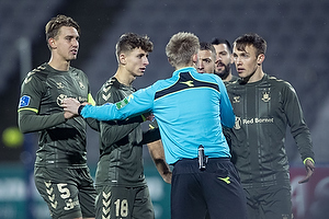 J�rgen Daugbjerg Burchardt, dommer, Andreas Maxs� (Br�ndby IF), Lasse Vigen Christensen (Br�ndby IF), Jesper Lindstr�m (Br�ndby IF)