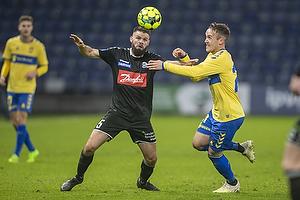 Marc Dal Hende  (S�nderjyskE), Lasse Vigen Christensen (Br�ndby IF)