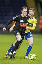 Morten Frendrup (Br�ndby IF), Anders K. Jacobsen  (S�nderjyskE)