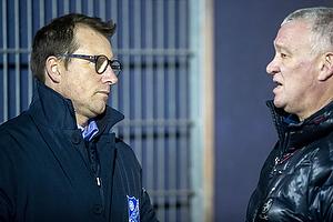 John Jensen (Br�ndby IF), Allan Ravn, adm. direkt�r  (Fremad Amager)