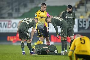 Josip Radosevic (Br�ndby IF), Jesper Lindstr�m (Br�ndby IF)