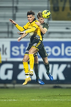 Lirim Qamili (AC Horsens), Sigurd Rosted (Br�ndby IF)
