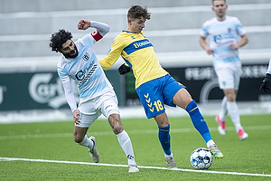 Jesper Lindstr�m (Br�ndby IF), Daniel Norouzi  (FC Helsing�r)