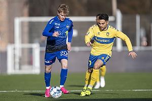 Rezan Corlu (Br�ndby IF), Emilio Simonsen  (HB K�ge)