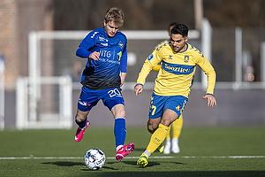 Emilio Simonsen  (HB K�ge), Rezan Corlu (Br�ndby IF)