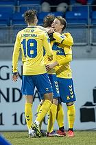 Jesper Lindstr�m (Br�ndby IF), Simon Hedlund, m�lscorer (Br�ndby IF)