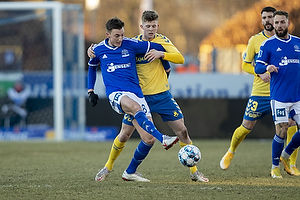 Mathias Hebo Rasmussen  (Lyngby BK), Morten Frendrup (Br�ndby IF)