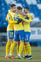 Jesper Lindstr�m, m�lscorer (Br�ndby IF), Mikael Uhre (Br�ndby IF), Josip Radosevic (Br�ndby IF)