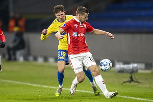 Jesper Lindstr�m (Br�ndby IF), Ylber Ramadani  (Vejle BK)