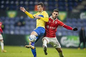 Andrija Pavlovic (Br�ndby IF), Denis Kolinger  (Vejle BK)