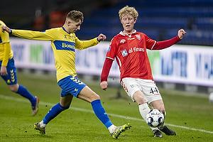 Jesper Lindstr�m (Br�ndby IF), Tobias M�lgaard  (Vejle BK)