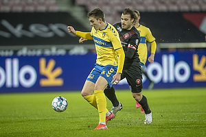 Mikael Uhre (Br�ndby IF), Erik Sviatchenko  (FC Midtjylland)